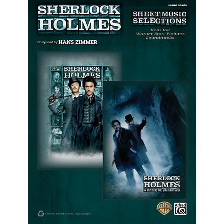AlfredSherlock Holmes Sheet Music Selections Advanced Piano Solos Book
