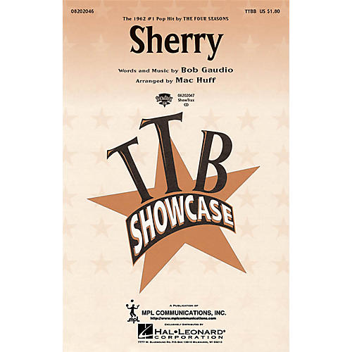 Hal Leonard Sherry ShowTrax CD by The Four Seasons Arranged by Mac Huff