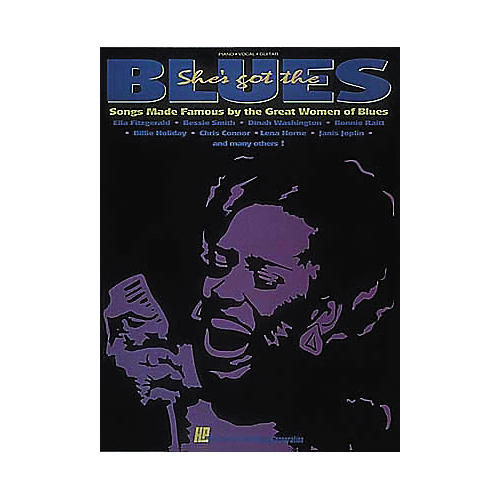 Hal Leonard She's Got The Blues Songbook
