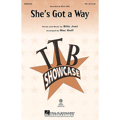 Hal Leonard She's Got a Way TTB by Billy Joel arranged by Mac Huff-thumbnail