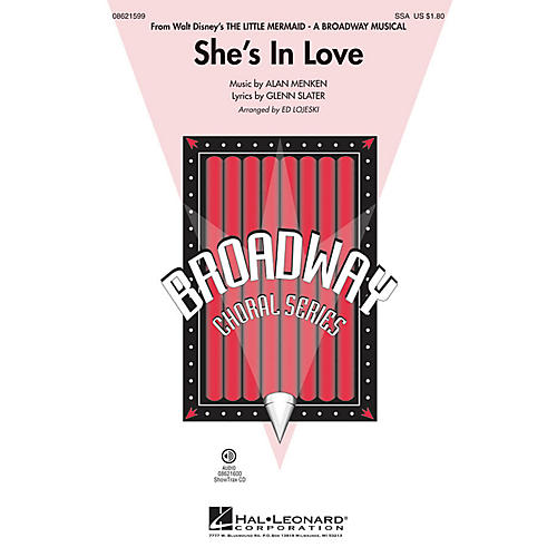Hal Leonard She's in Love (from The Little Mermaid) ShowTrax CD Arranged by Ed Lojeski-thumbnail