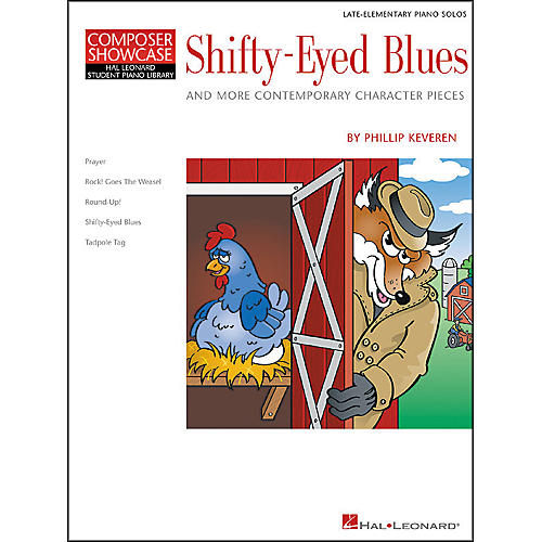 Hal Leonard Shifty-Eyed Blues Late Elementary Piano Solos Composer Showcase Hal Leonard Student Piano Library by Phillip Keveren