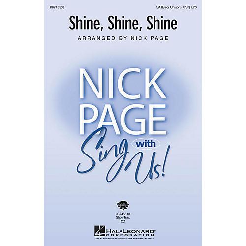 Hal Leonard Shine, Shine, Shine SATB (OPT UNISON) arranged by Nick Page-thumbnail