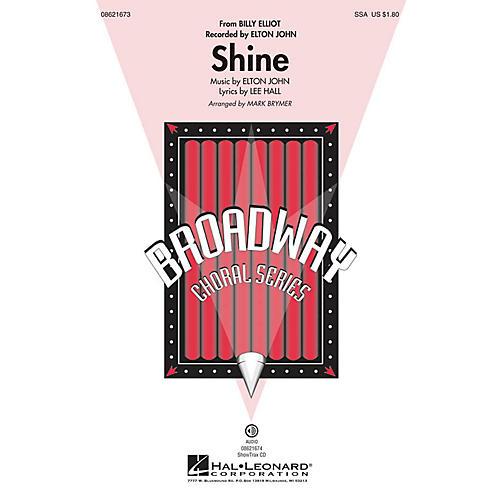 Hal Leonard Shine (from Billy Elliot) SSA by Elton John arranged by Mark Brymer-thumbnail