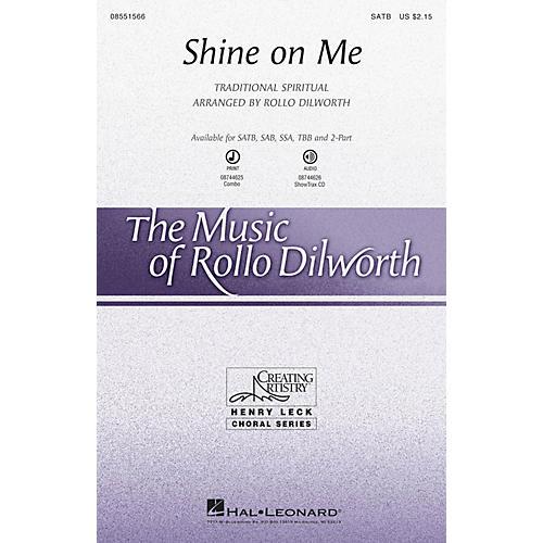 Hal Leonard Shine on Me SATB arranged by Rollo Dilworth
