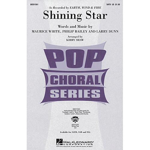 Hal Leonard Shining Star SAB by Earth, Wind & Fire Arranged by Kirby Shaw-thumbnail