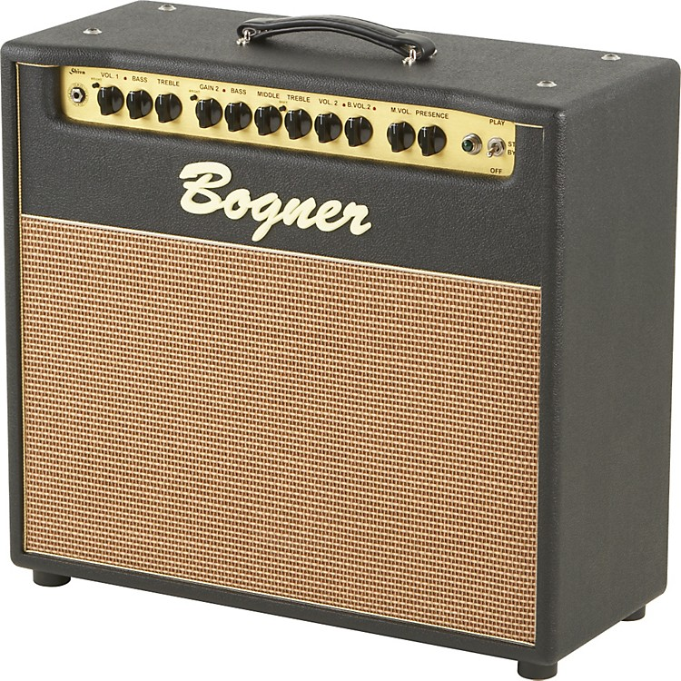 Bogner Shiva 80W 1x12 and Reverb Tube Guitar Combo Amp with EL34s