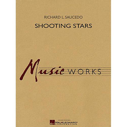 Hal Leonard Shooting Stars Concert Band Level 5 Composed by Richard L. Saucedo-thumbnail