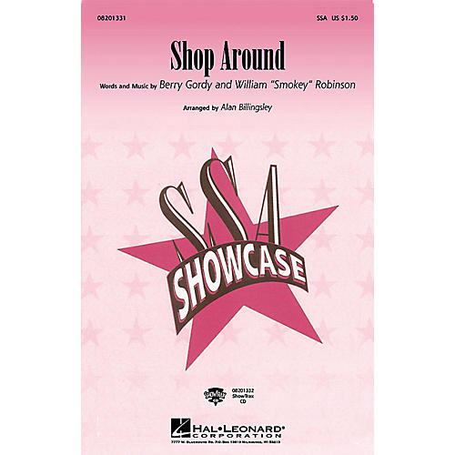 Hal Leonard Shop Around ShowTrax CD by The Miracles Arranged by Alan Billingsley