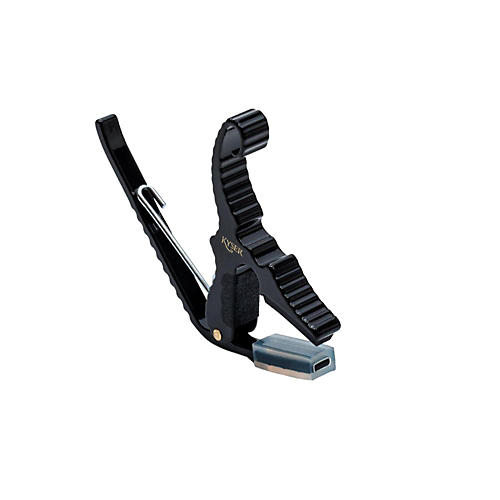 Kyser Short Cut 3-String Acoustic Guitar Capo Black