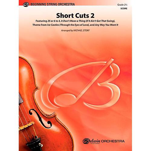 Alfred Short Cuts 2 String Orchestra Level 2.5 Set-thumbnail