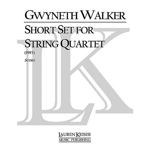 Lauren Keiser Music Publishing Short Set for String Quartet LKM Music Series Composed by Gwyneth Walker-thumbnail