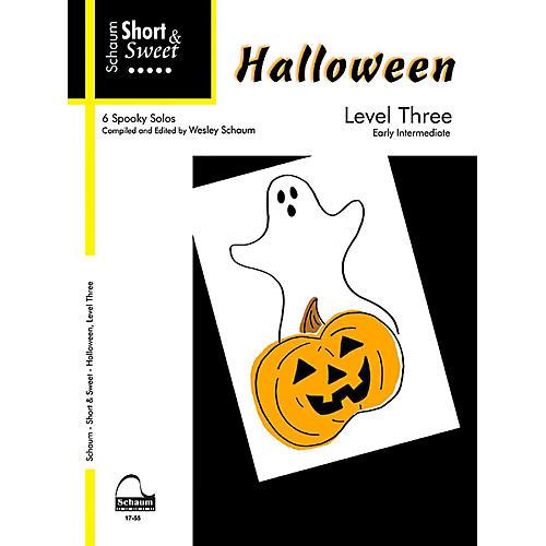 SCHAUM Short & Sweet Halloween, Level Three Early Intermediate