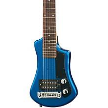 Hofner Shorty Electric Travel Guitar Level 1 Blue