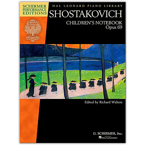 G. Schirmer Shostakovich - Children's Notebook, Opus 69 Schirmer Performance Edition-thumbnail
