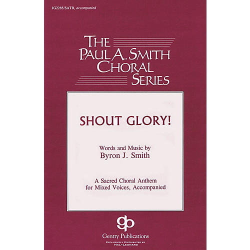 Gentry Publications Shout Glory! Accompaniment CD Composed by Byron Smith-thumbnail