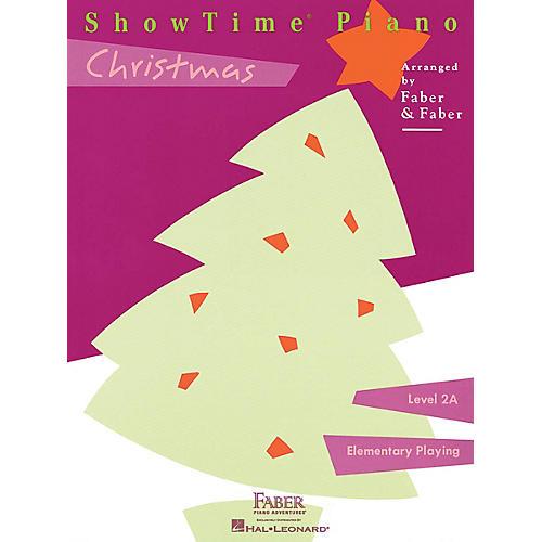 Faber Piano Adventures ShowTime® Christmas (Level 2A) Faber Piano Adventures® Series Disk-thumbnail