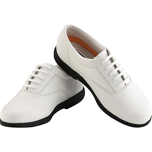 Director's Showcase Showstopper White Marching Shoes-thumbnail