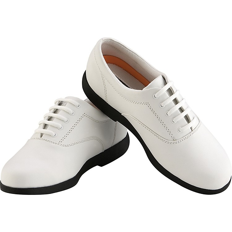 Director's Showcase Showstopper White Marching Shoes
