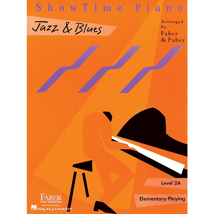 Faber Music Showtime Jazz & Blues Level 1B-2A Faber Piano Adventures