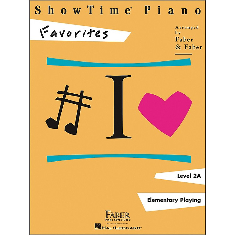 Faber Music Showtime Piano Favorites Book Level 2A - Faber Piano