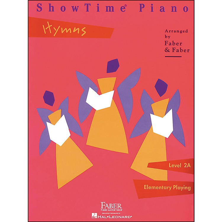 Faber Piano Adventures Showtime Piano Hymns Book Level 2A Elementary Playing - Faber Piano