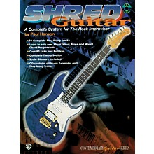 Alfred Shred Guitar: A Complete System for the Rock Guitar Improviser Book/CD