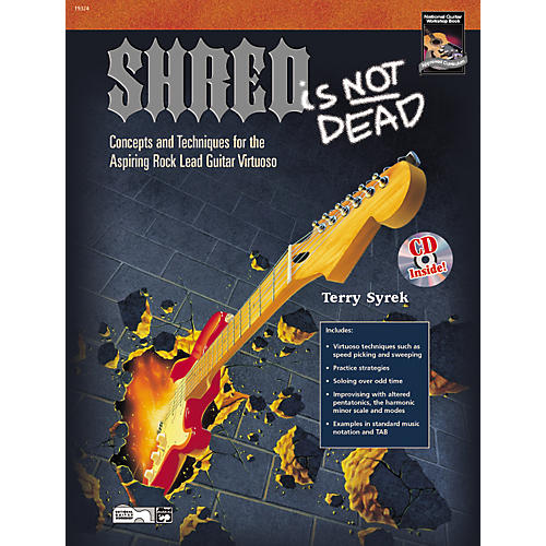 Alfred Shred Is Not Dead - Guitar Book and DVD-thumbnail