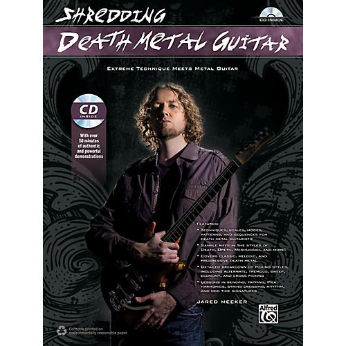 Alfred Shredding Death Metal Guitar Book & CD