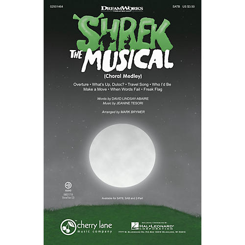 Cherry Lane Shrek: The Musical (Choral Medley) ShowTrax CD Arranged by Mark Brymer-thumbnail