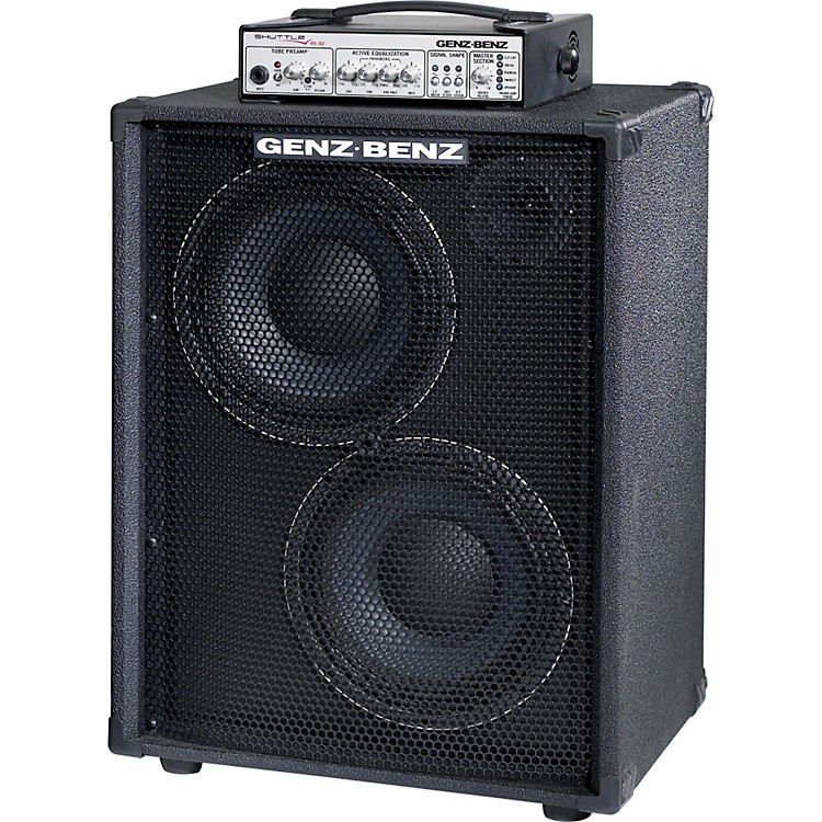 Genz Benz Shuttle 6.0-210T 600 Watt Lightweight Bass 2x10 Combo