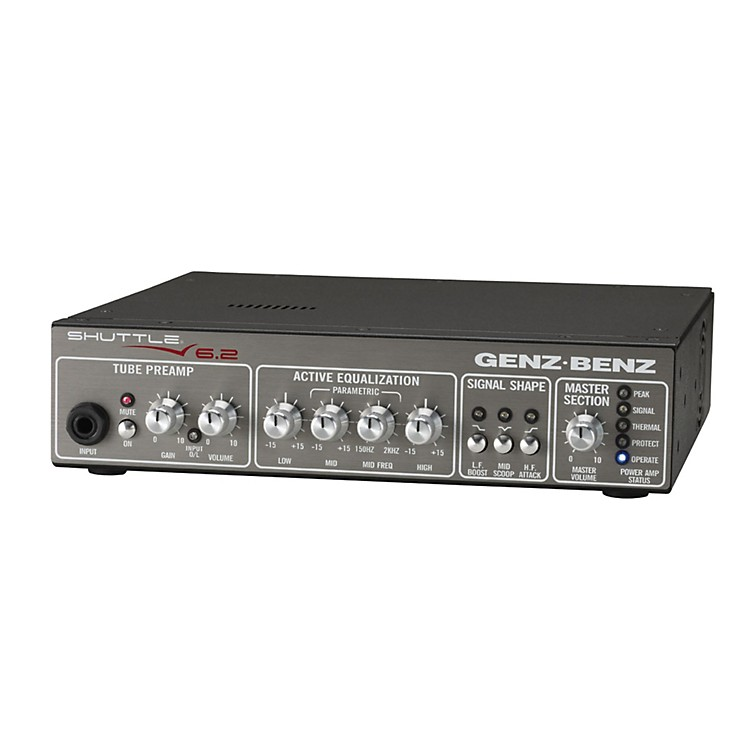 Genz Benz Shuttle 6.2 600W Bass Amp Head