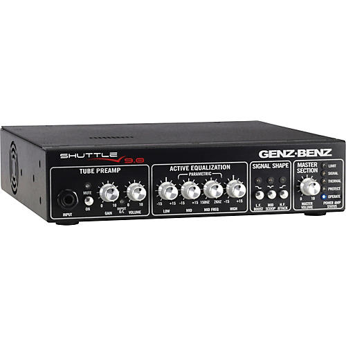 Genz Benz Shuttle 9.0 900W Lightweight Bass Amp Head