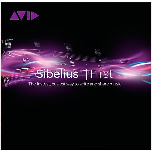 Avid Sibelius First Music Notation Software
