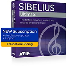 Sibelius Sibelius Subscription for Education