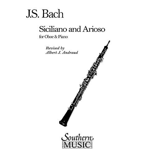 Southern Siciliano and Arioso (Oboe) Southern Music Series Arranged by Albert Andraud