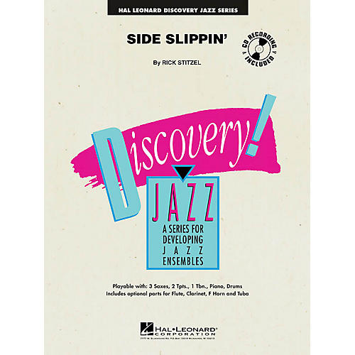 Hal Leonard Side Slippin' Jazz Band Level 1-2 Composed by Rick Stitzel