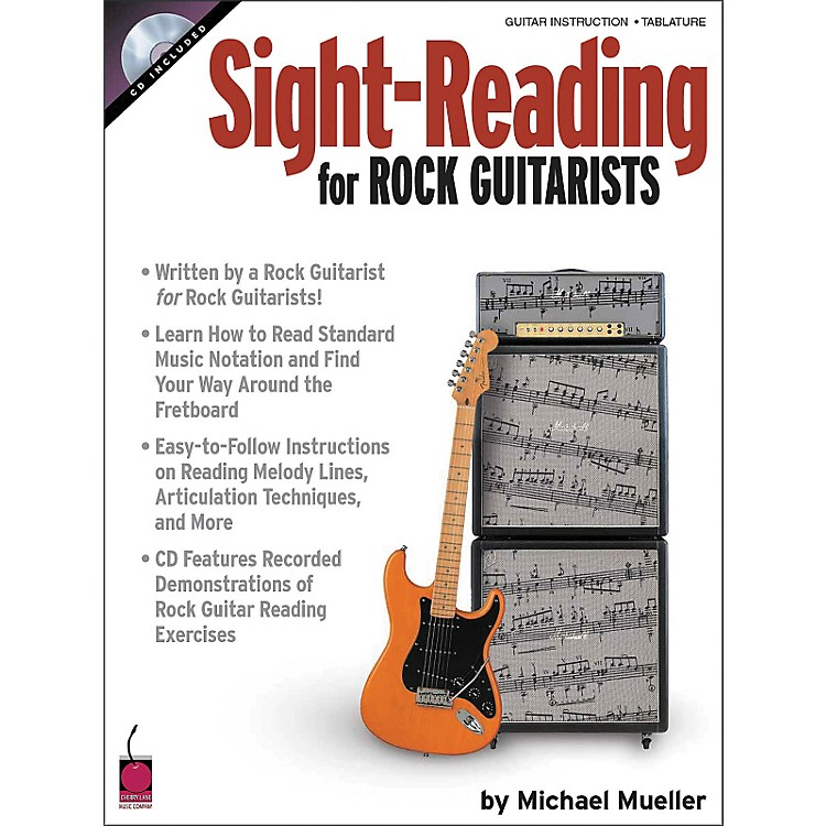 Cherry LaneSight Reading for Rock Guitarists (Book and CD Package)