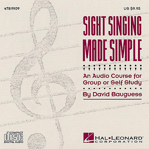 Hal Leonard Sight Singing Made Simple (Resource) CD composed by David Bauguess-thumbnail