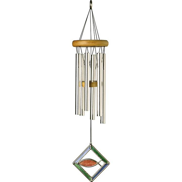 Woodstock chimes sign of faith wind chimes musician 39 s friend for Koi fish wind chime