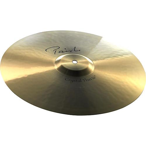 Paiste Signature Crystal Thin Crash Cymbal