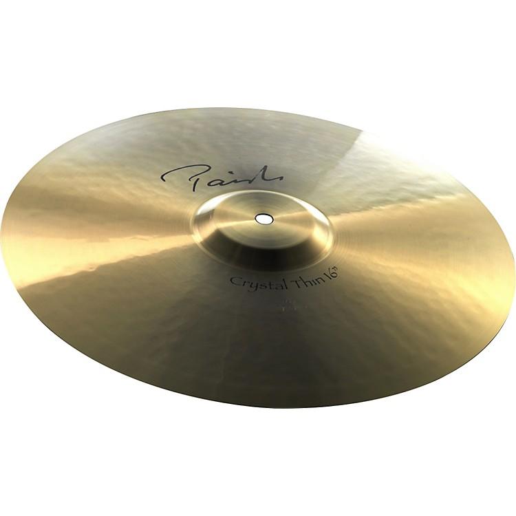 PaisteSignature Crystal Thin Crash Cymbal