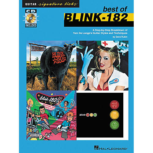 Hal Leonard Signature Licks Best of Blink-182 Book with CD
