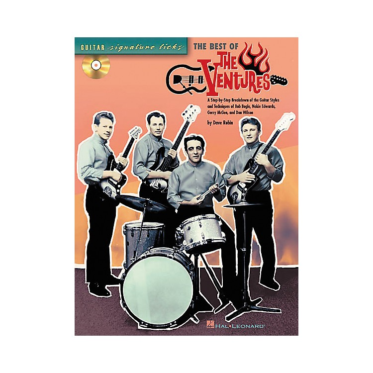 Hal Leonard Signature Licks The Best of The Ventures Book with CD