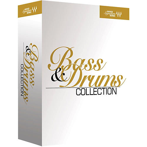 Waves Signature Series Bass and Drums Native/TDM/SG Software Download-thumbnail