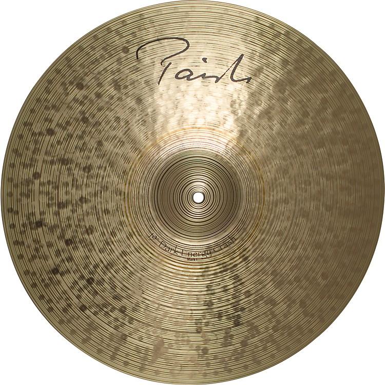 PaisteSignature Series Dark MKI Energy Crash Cymbal19 Inches