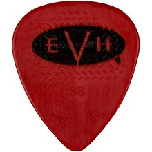 EVH Signature Series Picks (6 Pack) 0.88 mm Red/Black