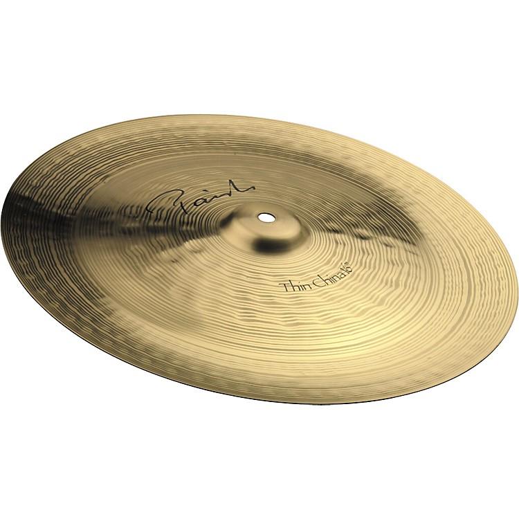 PaisteSignature Thin China Cymbal16