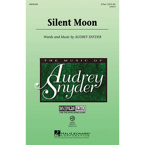 Hal Leonard Silent Moon (Discovery Level 2) 2-Part composed by Audrey Snyder-thumbnail
