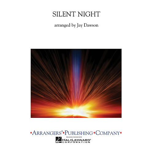 Arrangers Silent Night (Full Score) Concert Band Arranged by Jay Dawson-thumbnail